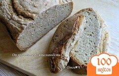 Фото рецепта: «Ржано-кукурузный хлеб с овсяными хлопьями»