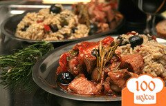 Фото рецепта: «Мясо по-итальянски в томатном соусе»