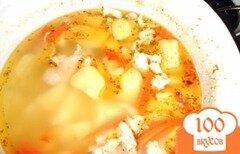 Фото рецепта: «Мокрая картошка с курицей»