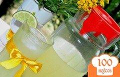 Фото рецепта: «Имбирно-мятный лимонад»