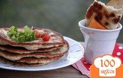 Фото рецепта: «Лепёшки с мясом»