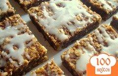 Фото рецепта: «Тыквенное печенье с орехами»