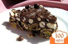 Фото рецепта: «Хрустящий шоколадный торт»