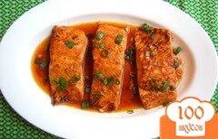 Фото рецепта: «Печеный лосось в пряном соусе»