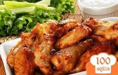 Фото рецепта: «Шашлык из куриных крылышек»