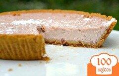 Фото рецепта: «Пирог с черешневым йогуртом»