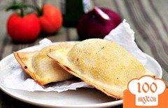 Фото рецепта: «Пирожки с грибами и свининой»