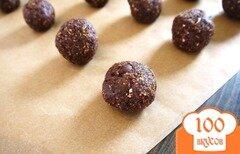 Фото рецепта: «Шоколадное печенье с черносливом»
