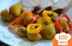 Фото рецепта: «Картофель со сладким перцем»