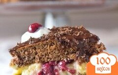Фото рецепта: «Бостонский торт Черный Лес»