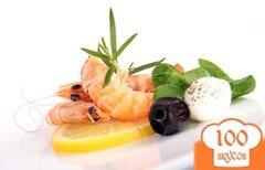 Фото рецепта: «Канапе с креветками»
