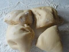 «Яичная лапша» - приготовления блюда - шаг 2