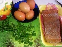 «Паста из сыра тофу и подкопченной форелью» - приготовления блюда - шаг 1