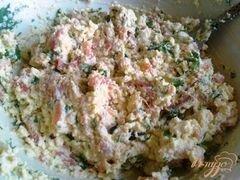 «Паста из сыра тофу и подкопченной форелью» - приготовления блюда - шаг 8