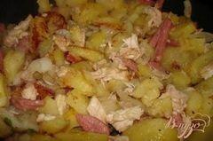 «Быстрое жаркое в сковороде» - приготовления блюда - шаг 1