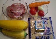 «Лодочки из кабачков запеченные в духовке» - приготовления блюда - шаг 1