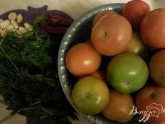 «Малосольные помидоры» - приготовления блюда - шаг 1