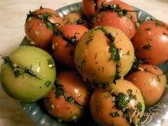 «Малосольные помидоры» - приготовления блюда - шаг 2