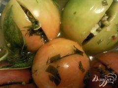 «Малосольные помидоры» - приготовления блюда - шаг 3