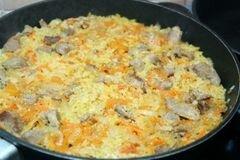 «Паэлья» - приготовления блюда - шаг 6