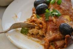 «Энчилада с курицей» - приготовления блюда - шаг 15