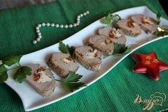 «Нежнейшая вырезка, фаршированная вялеными томатами и фетой» - приготовления блюда - шаг 9