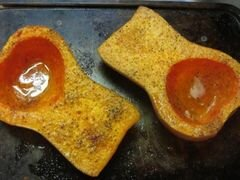 «Тыквенный суп с колбасой» - приготовления блюда - шаг 3