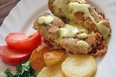 «Жареная рыба» - приготовления блюда - шаг 5