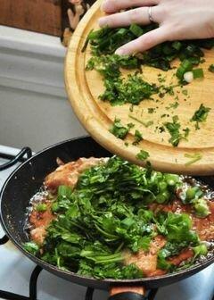 «Лосось в имбирном соусе» - приготовления блюда - шаг 12