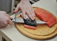 «Лосось в имбирном соусе» - приготовления блюда - шаг 2