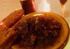 «Чакапули - жемчужинa грузинской кухни» - приготовления блюда - шаг 9