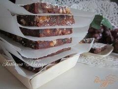 «Шоколадные пластинки с сухофруктами...» - приготовления блюда - шаг 6