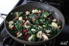 Ростбиф с овощами, цветной капустой и грибами, пошаговый рецепт с фото