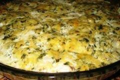 «Рыба в сливочно-сырном соусе» - приготовления блюда - шаг 4