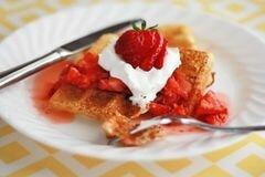 «Вафли из дрожжевого теста» - приготовления блюда - шаг 7