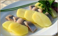 «Селедка с картошкой» - приготовления блюда - шаг 6