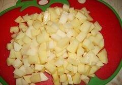 «Гороховый суп с сухариками» - приготовления блюда - шаг 5