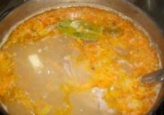 «Гороховый суп с сухариками» - приготовления блюда - шаг 6
