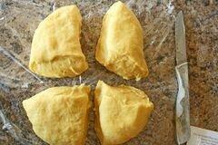 «Равиоли с сыром в чесночном соусе» - приготовления блюда - шаг 13