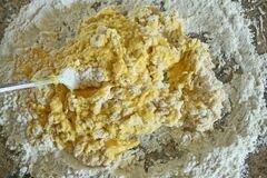 «Равиоли с сыром в чесночном соусе» - приготовления блюда - шаг 4