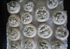 «Фаршированные шампиньоны» - приготовления блюда - шаг 4