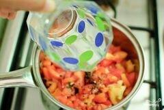 «Спагетти с базиликом и помидорами» - приготовления блюда - шаг 3