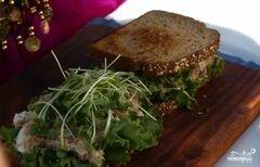 «Сэндвич с тунцом» - приготовления блюда - шаг 4