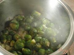 «Суп с брюссельской капустой» - приготовления блюда - шаг 2
