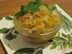 «Капуста тушеная с сосисками» - приготовления блюда - шаг 7