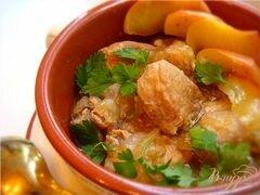 «Томленая свинина с имбирем и яблоками!» - приготовления блюда - шаг 5