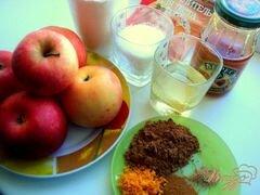 «Яблочно-абрикосовое пирожное (постное)» - приготовления блюда - шаг 1