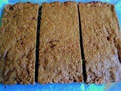«Яблочно-абрикосовое пирожное (постное)» - приготовления блюда - шаг 5