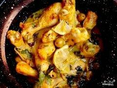 «Курица по-мароккански» - приготовления блюда - шаг 4