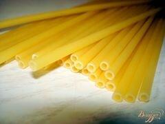 «Рулет с макаронами» - приготовления блюда - шаг 1